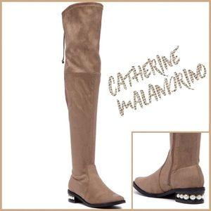 d6afb7a31ae Catherine Malandrino Shoes - 🌟HP🌟Catherine Malandrino Perse Over Knee Boot  8